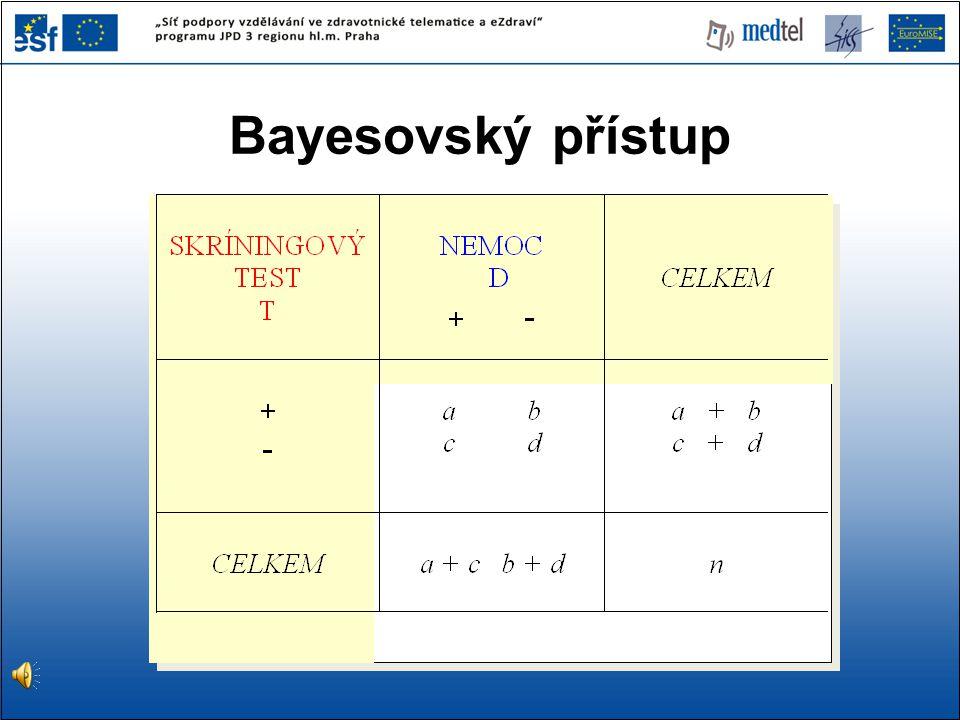 Bayesovský přístup