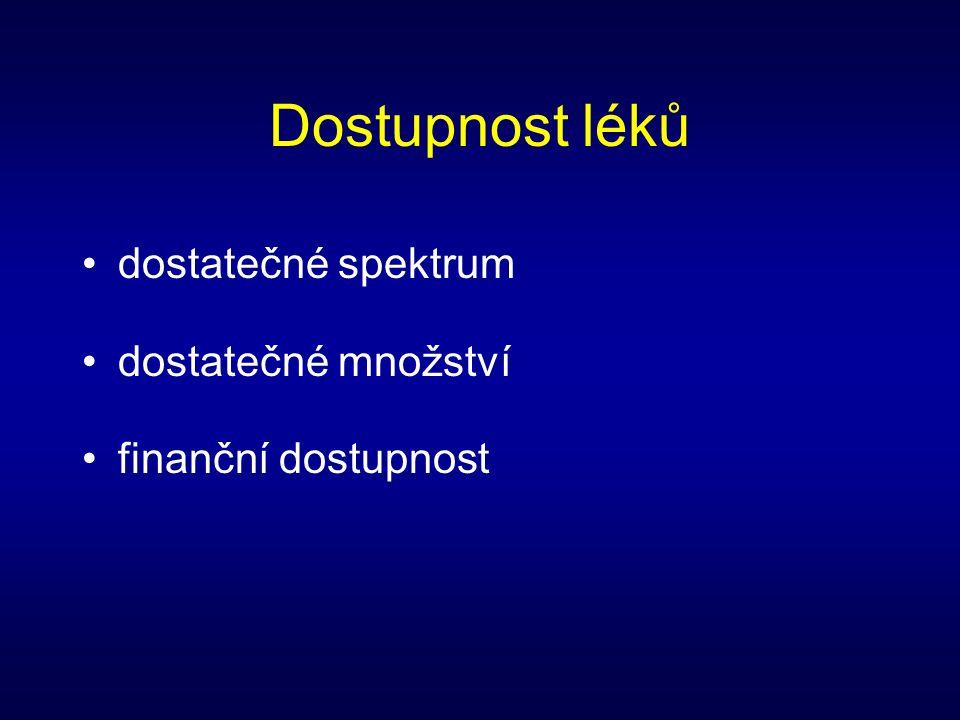 Cílem lékové politiky je zajistit pro občany ČR kvalitní a dostupné léky. •optimální terapeutické používání •efektivní využívání finančních zdrojů •po