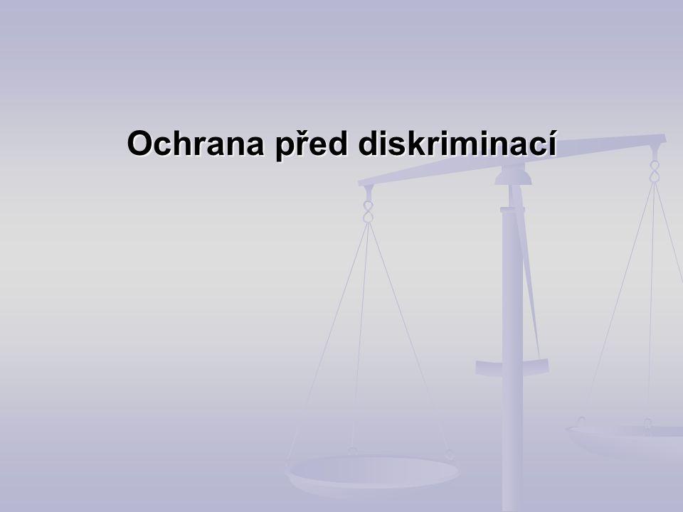 Ochrana před diskriminací