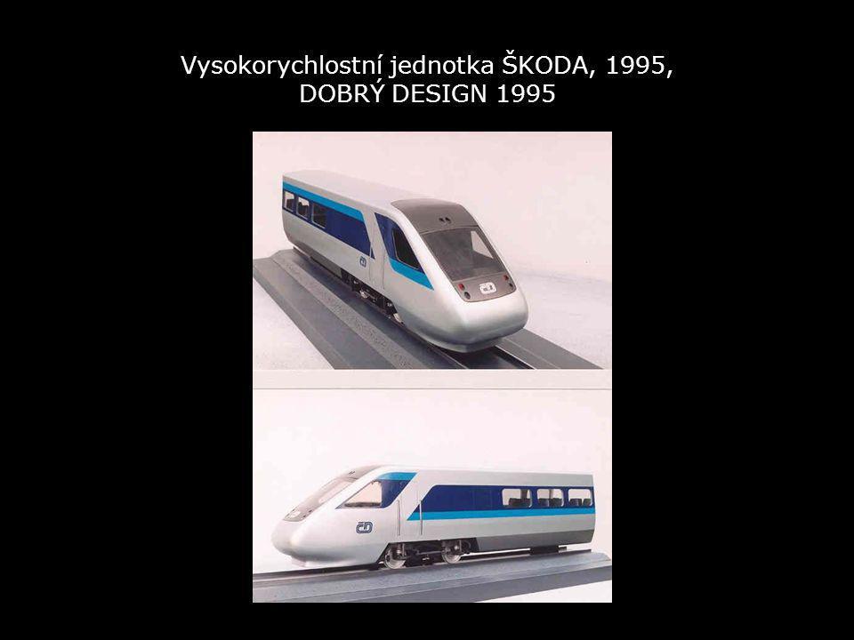 Vysokorychlostní jednotka ŠKODA, 1995, DOBRÝ DESIGN 1995