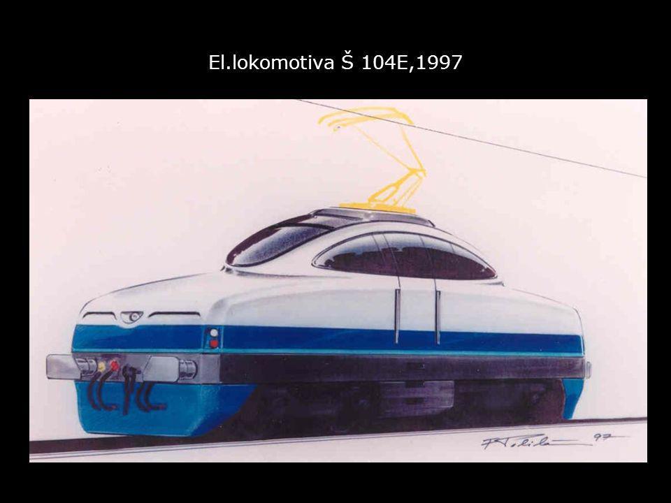 El.lokomotiva Š 104E,1997