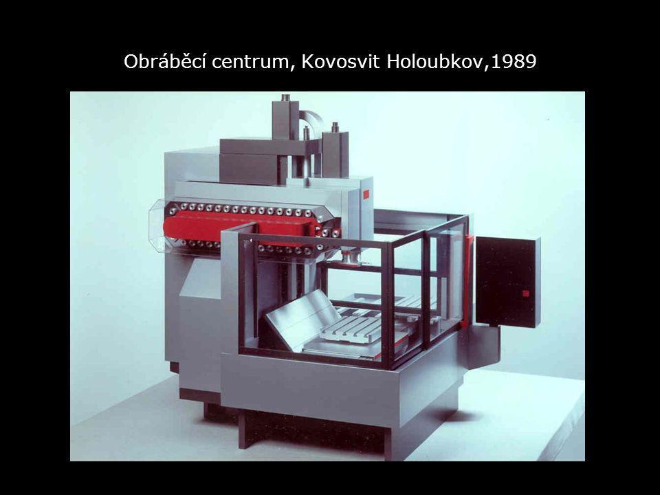 Obráběcí centrum, Kovosvit Holoubkov,1989
