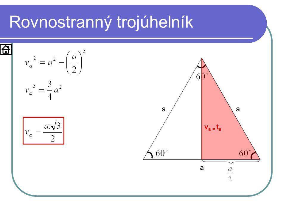 Příklad Je dán trojúhelník KLM: k = 5cm, l = 7cm a m = 4cm.
