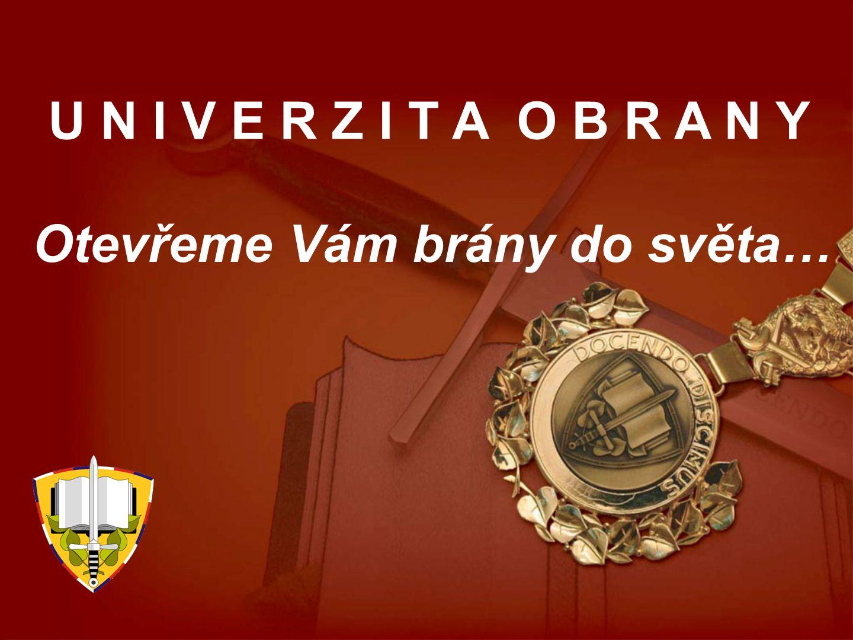 KDO JSME Univerzita obrany je jediná vojenská vysoká škola v České republice.
