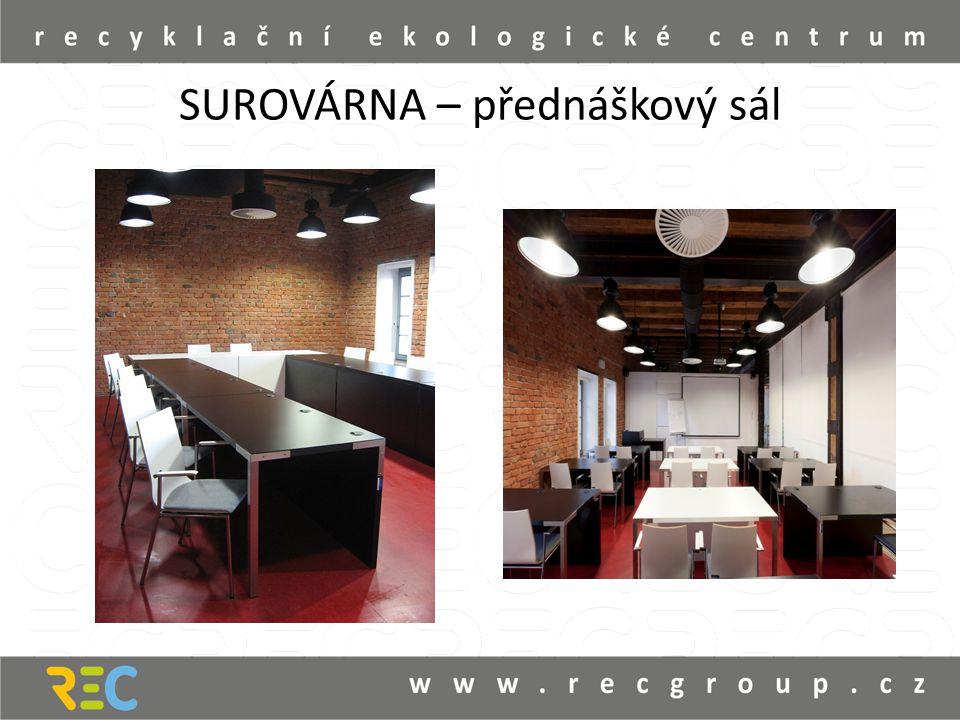 SUROVÁRNA – přednáškový sál