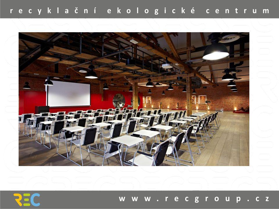 • kapacita 150 míst, sál je vybaven podiem, audiovizuální technikou, včetně dataprojektoru a plátnem.