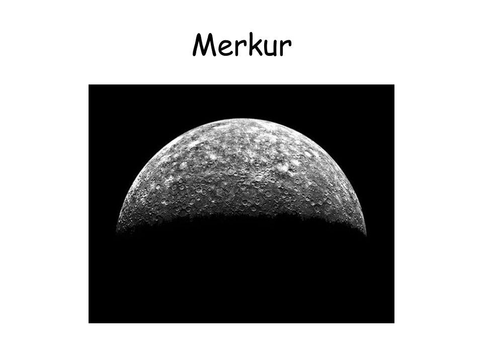 Merkur - informace •Vzdálenost od Slunce •Maximální 69,7 mil.