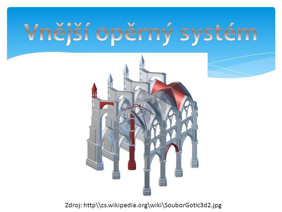 1)Dynamismus 2)Vertikalismus 3)Odhmotnění 4)Sjednocení prostoru 5)Snaha vytvořit sugestivní imaginární prostor