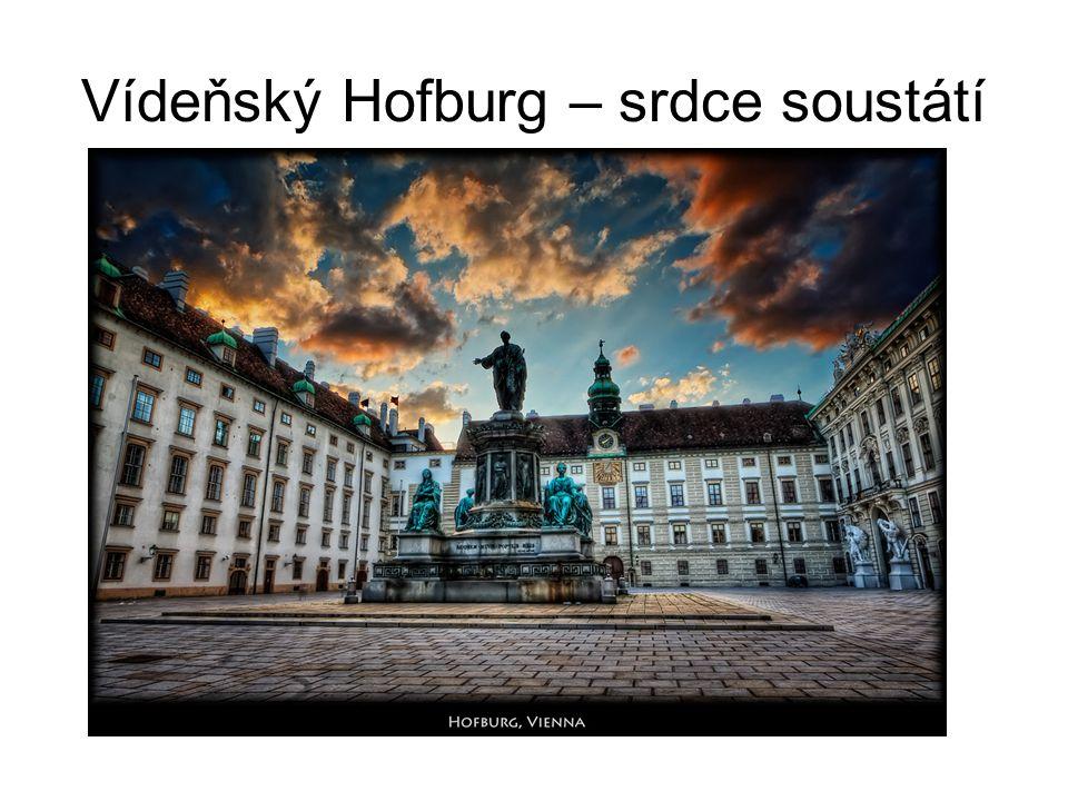 Vídeňský Hofburg – srdce soustátí