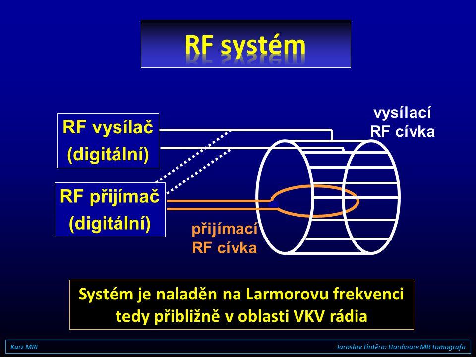 zodpovídá za maximální dosažitelné prostorové rozlišení obvyklé hodnoty 20-35 mT/m, špičkové až 80 mT/m Maximální amplituda rychlost náběhu gradientu