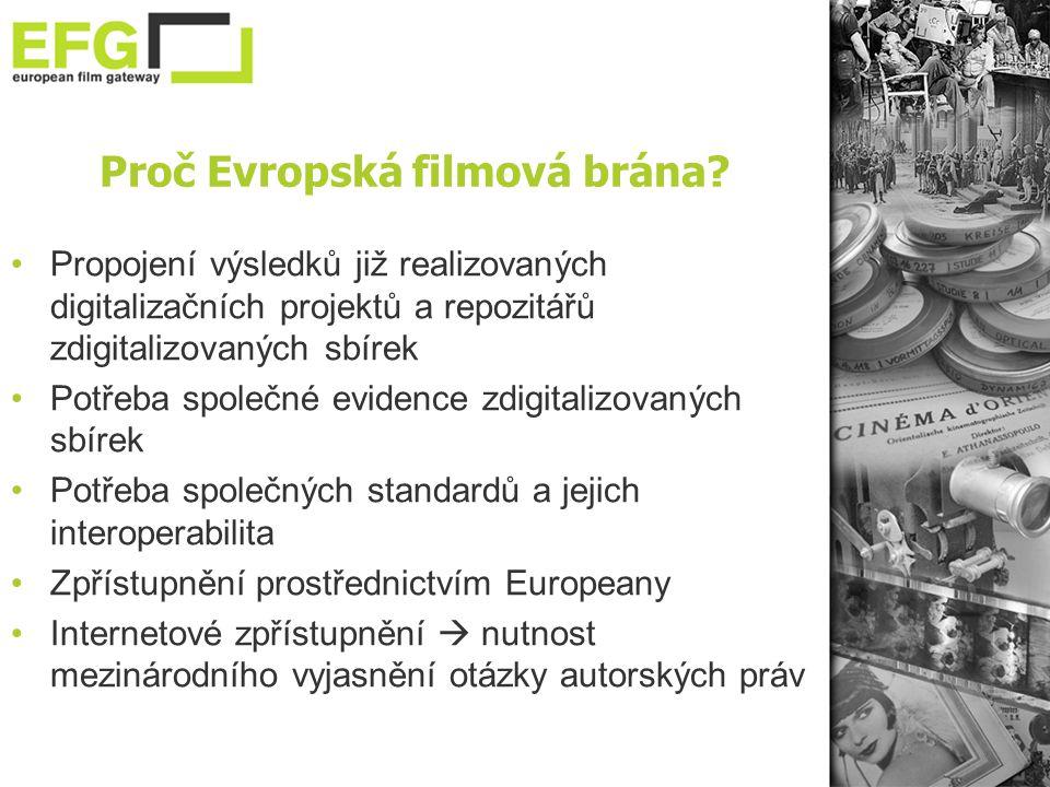 Proč Evropská filmová brána.