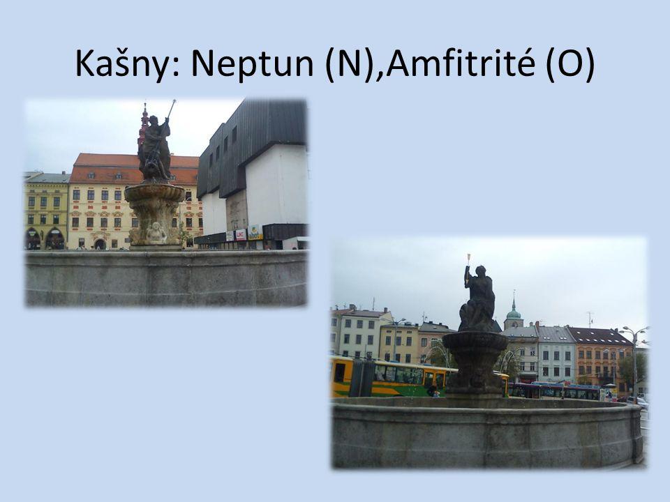 Kašny: Neptun (N),Amfitrité (O)