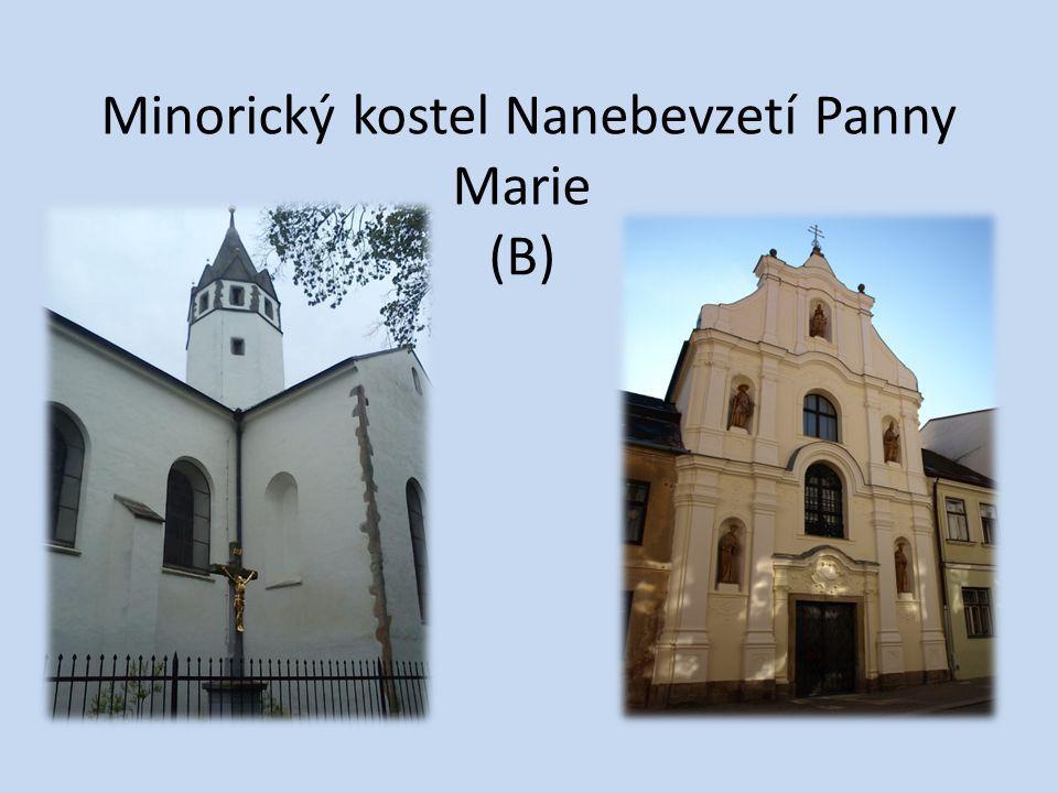 Minorický kostel Nanebevzetí Panny Marie (B)
