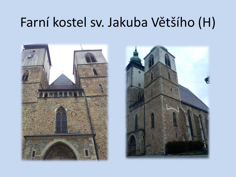 Farní kostel sv. Jakuba Většího (H)
