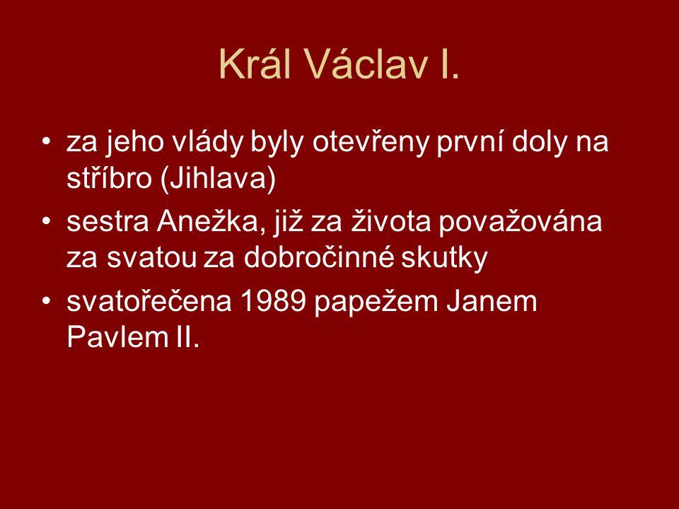 Král Václav I.