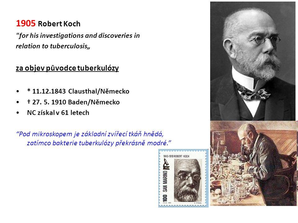 1905 Robert Koch