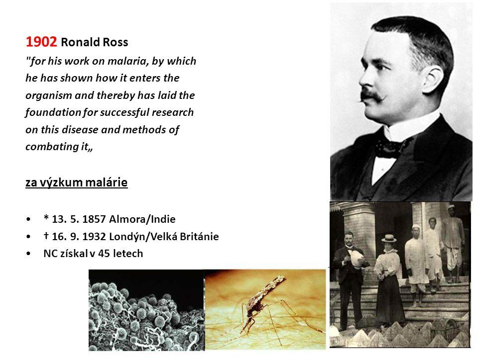 1902 Ronald Ross