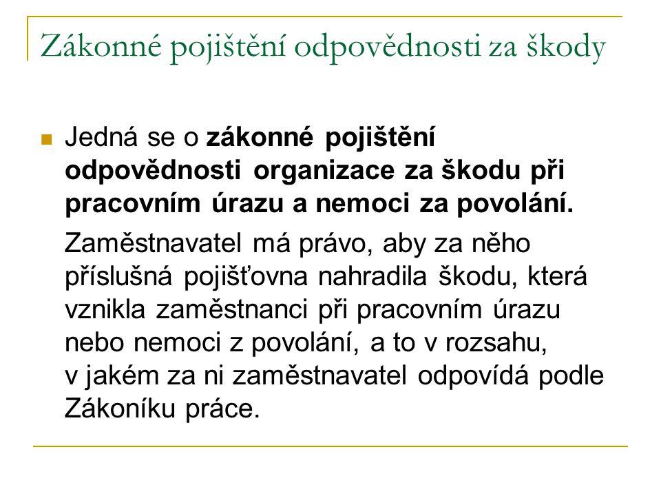 Pojištění majetku Toto pojištění poskytuje většina pojišťoven v ČR.