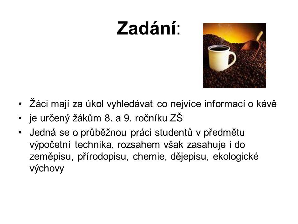 Účinky kofeinu na organismus člověka 1.Posiluje nervovou soustavu.