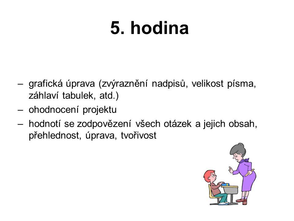 Práce z hodin ekologické výchovy •Úkol č.