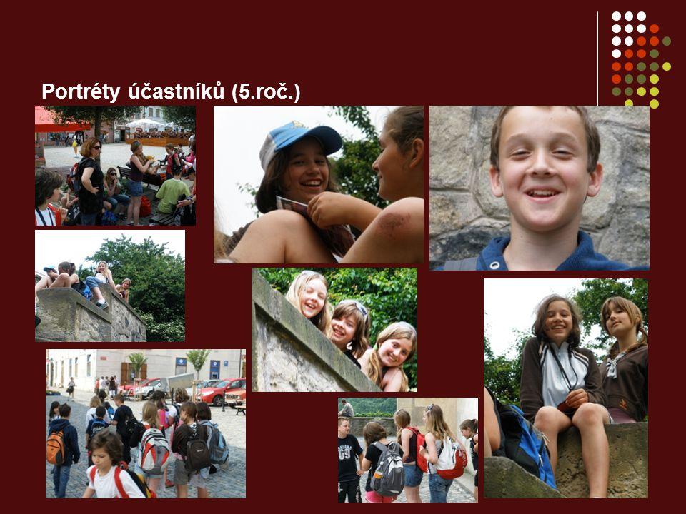 Portréty účastníků (5.roč.)