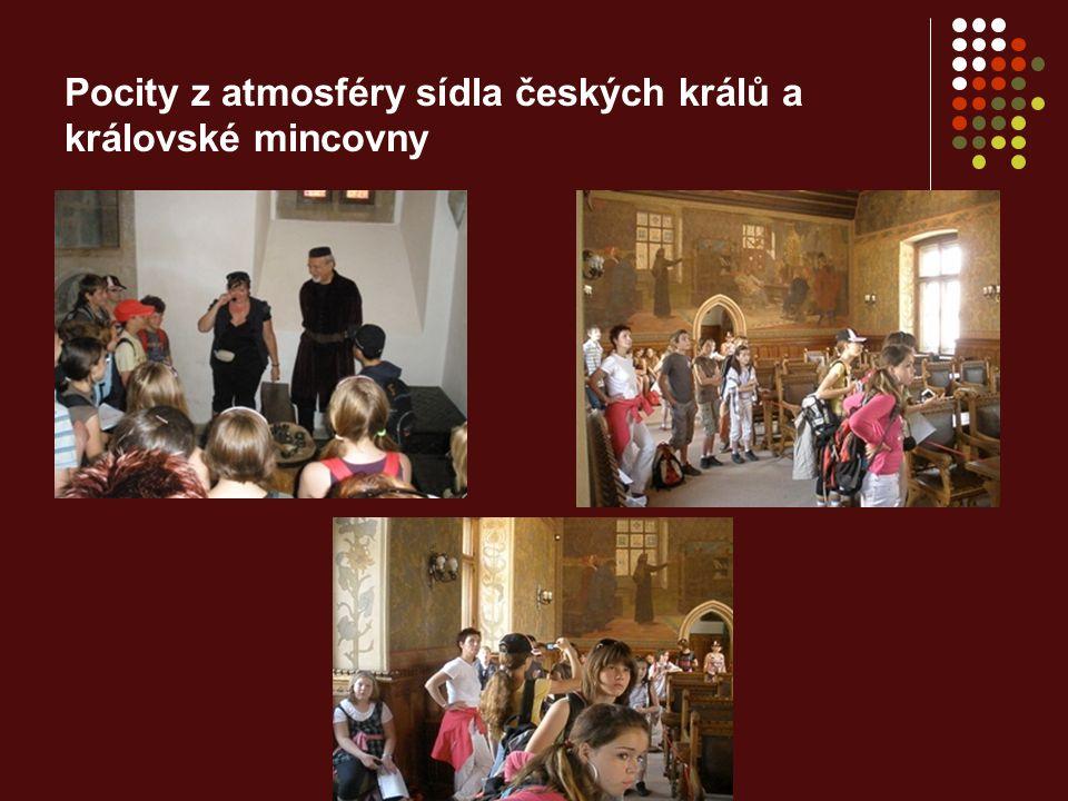 Pocity z atmosféry sídla českých králů a královské mincovny