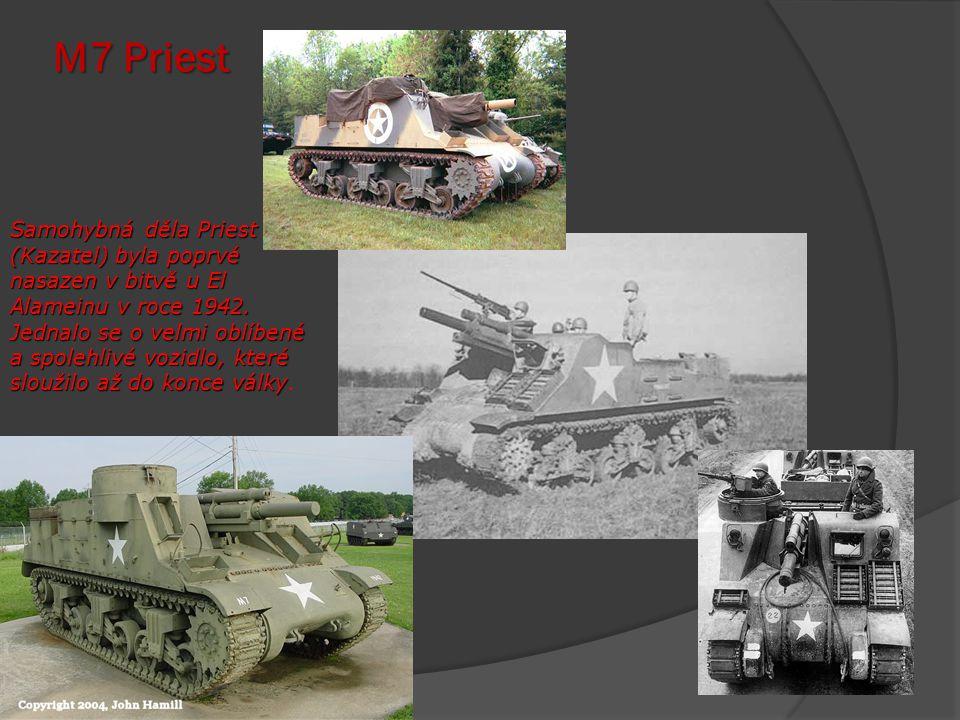 M – 4 Sherman Americký střední tank M4 Sherman byl hlavním tahounem pozemních operací západní fronty.
