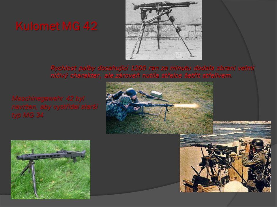 Kar 98k Německá standardní puška ve výzbroji německé armády během druhé světové války.