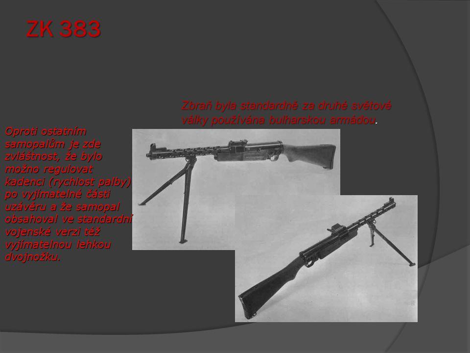 Kulomet MG 42 Rychlost palby dosahující 1200 ran za minutu dodala zbrani velmi ničivý charakter, ale zároveň nutila střelce šetřit střelivem.