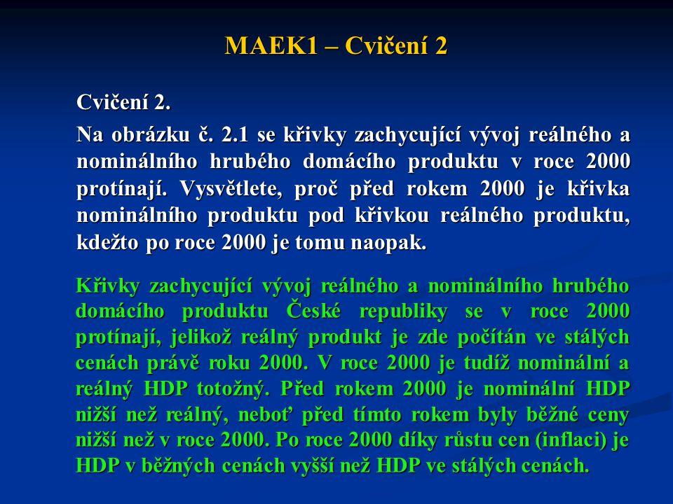 MAEK1 – Cvičení 2 Cvičení 2.Na obrázku č.