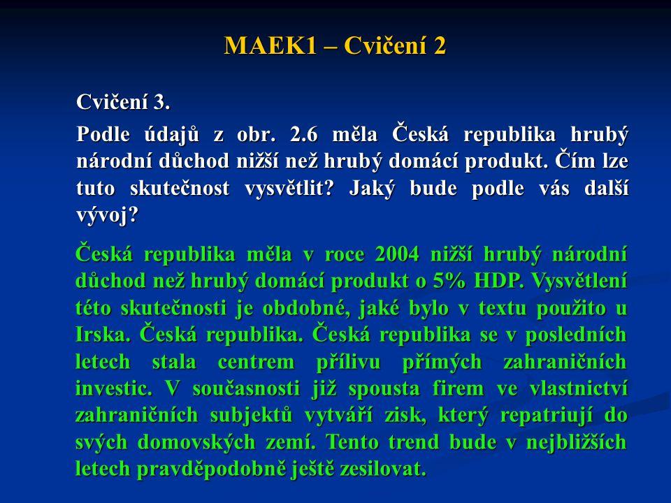 MAEK1 – Cvičení 2 Cvičení 3.Podle údajů z obr.
