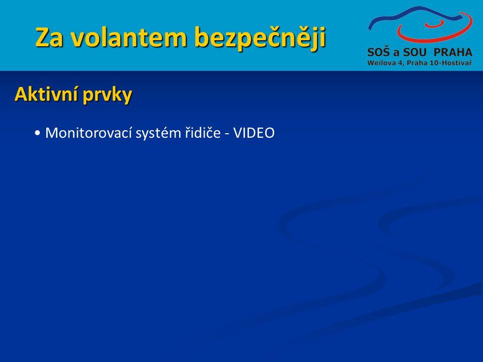 Za volantem bezpečněji • Monitorovací systém řidiče - VIDEO Aktivní prvky
