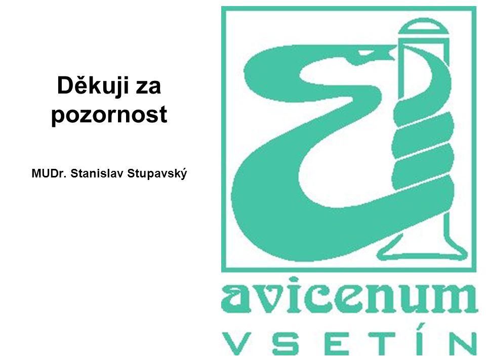 39 Děkuji za pozornost MUDr. Stanislav Stupavský