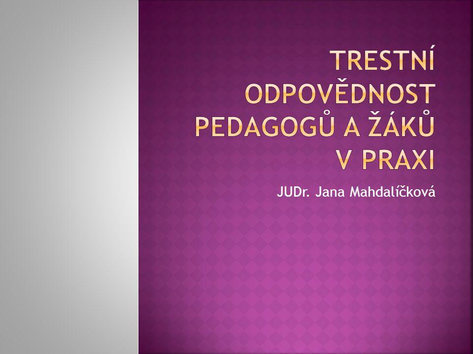JUDr. Jana Mahdalíčková
