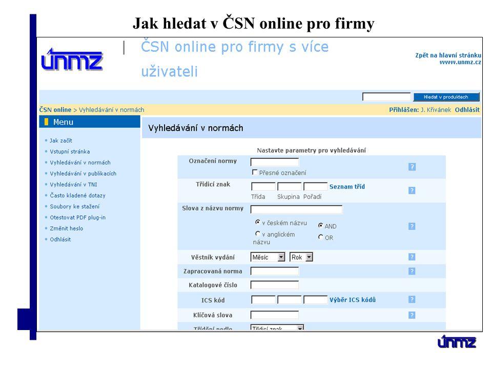 Symbol akce Jméno přednášejícího Datum Jak hledat v ČSN online pro jednotlivce Nadace ABFIng.Jiří Křivánek16.3.2009