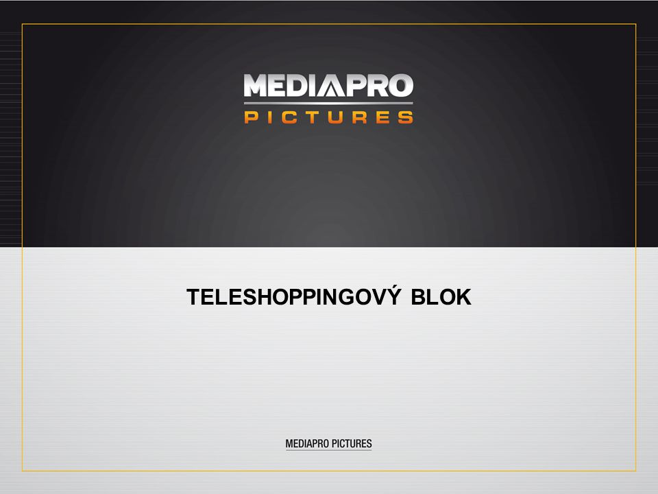 TELESHOPPINGOVÝ BLOK