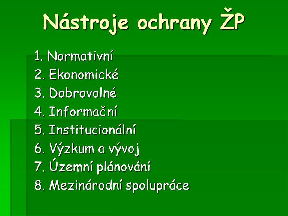 zákon č.123/1998 Sb., o právu na informace o ŽP zákon č.