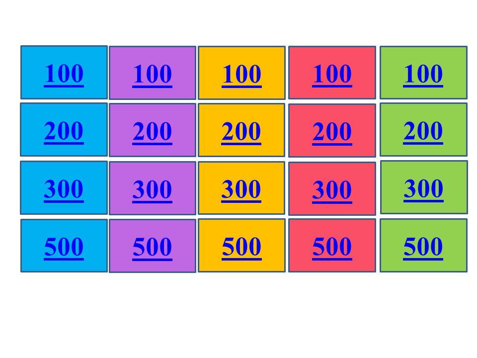 500 100 200 300 500 100 200 300