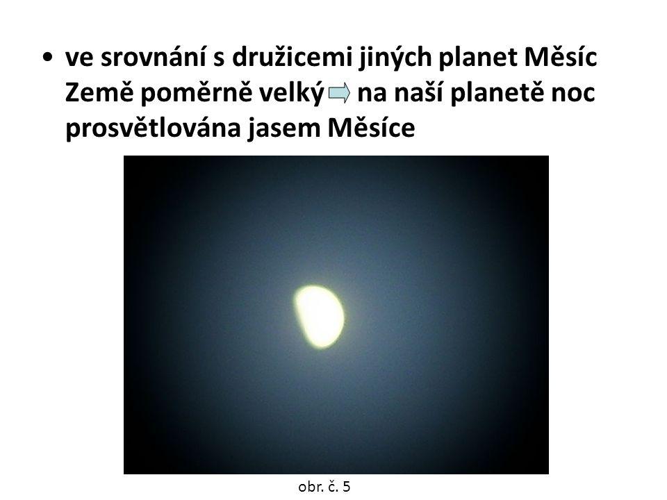 Pohyby Měsíce  otáčí se kolem své osy za 28 dní  obíhá kolem Země za 28 dní  spolu se Zemí obíhá kolem Slunce za 1 rok obr.
