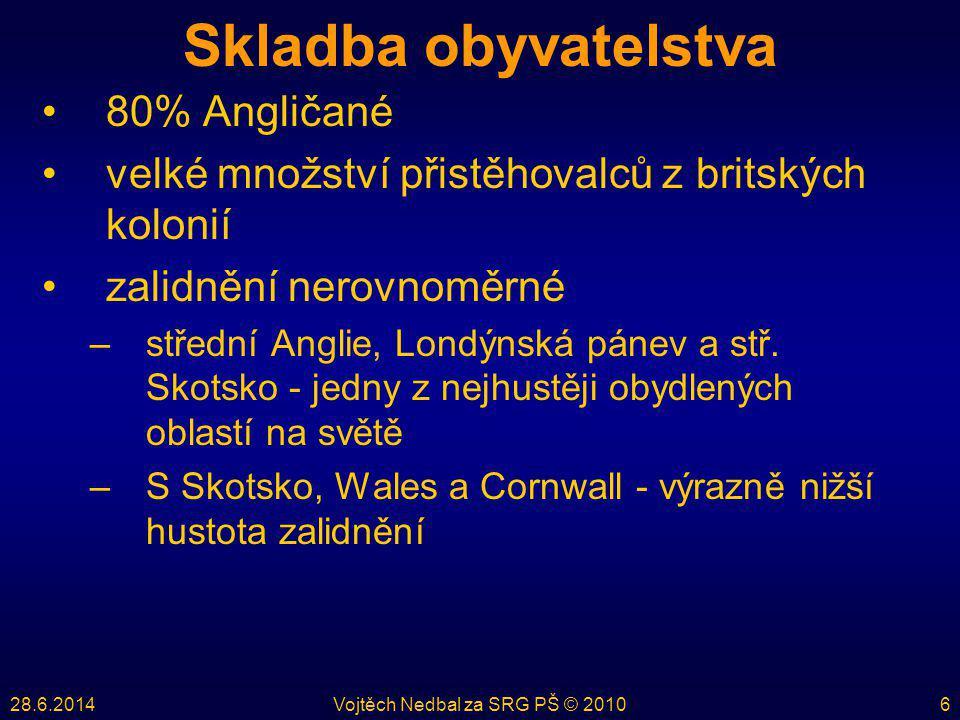 28.6.2014Vojtěch Nedbal za SRG PŠ © 20107 Postavení v současném světě •rozlohou 11.