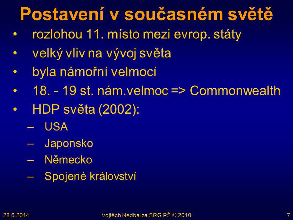 28.6.2014Vojtěch Nedbal za SRG PŠ © 201028