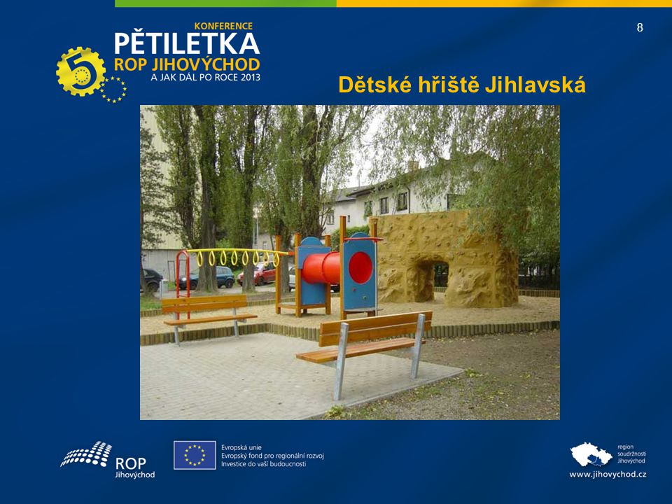 8 Dětské hřiště Jihlavská