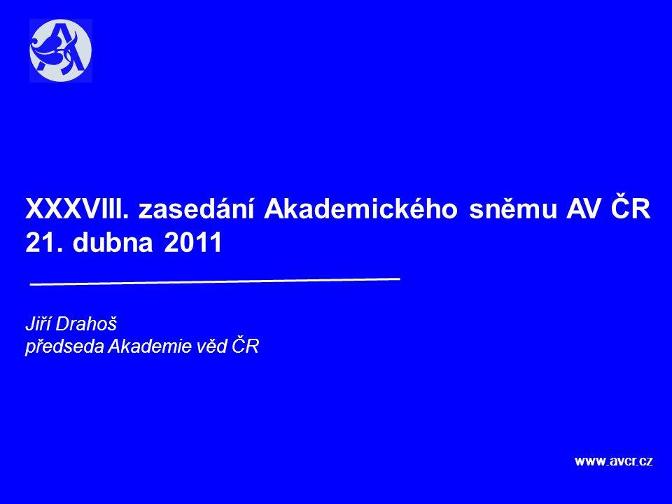 XXXVIII. zasedání Akademického sněmu AV ČR 21.