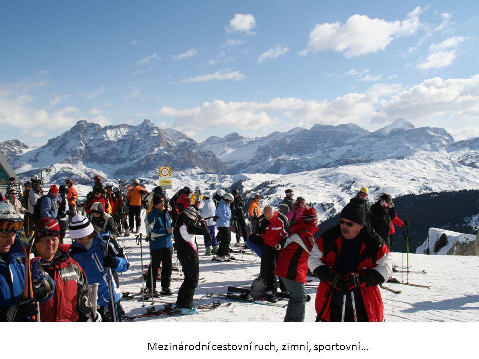 Mezinárodní cestovní ruch, zimní, sportovní…