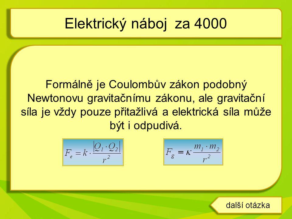 Formálně je Coulombův zákon podobný Newtonovu gravitačnímu zákonu, ale gravitační síla je vždy pouze přitažlivá a elektrická síla může být i odpudivá.