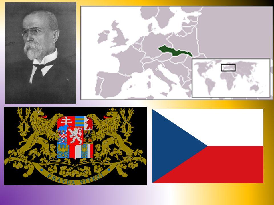 Tomáš Garrigue Masaryk Prezident 1. samostatného Československa