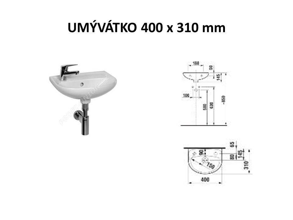 UMÝVÁTKO 400 x 310 mm