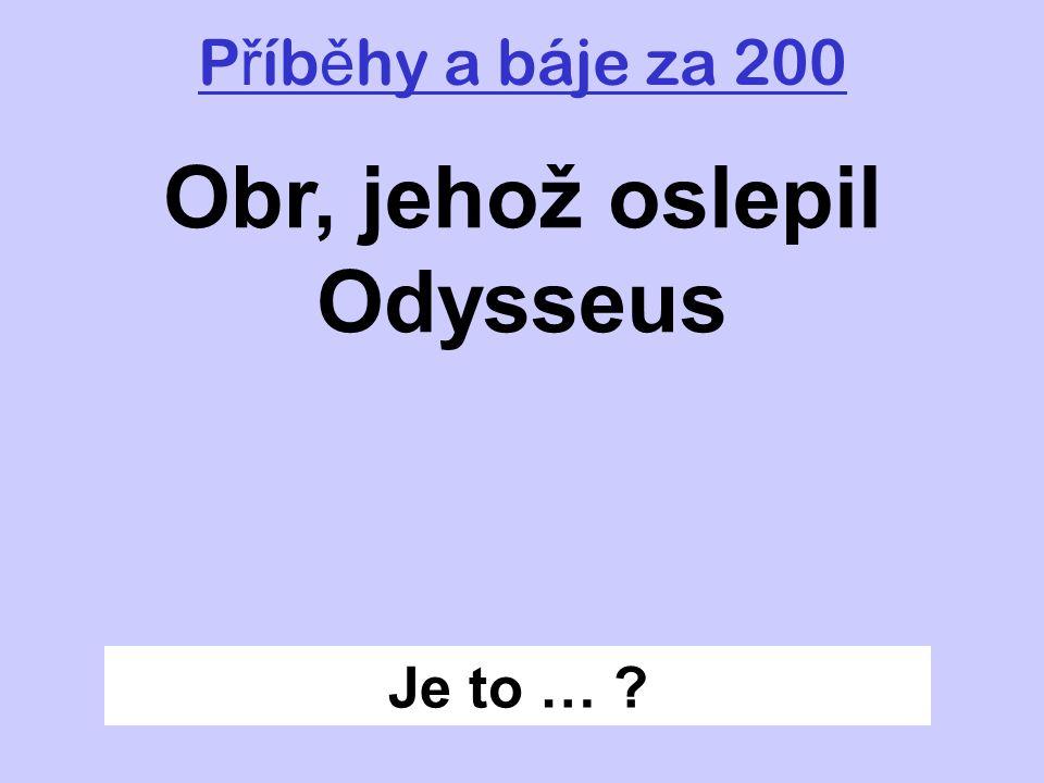 Zp ě t Prométheus