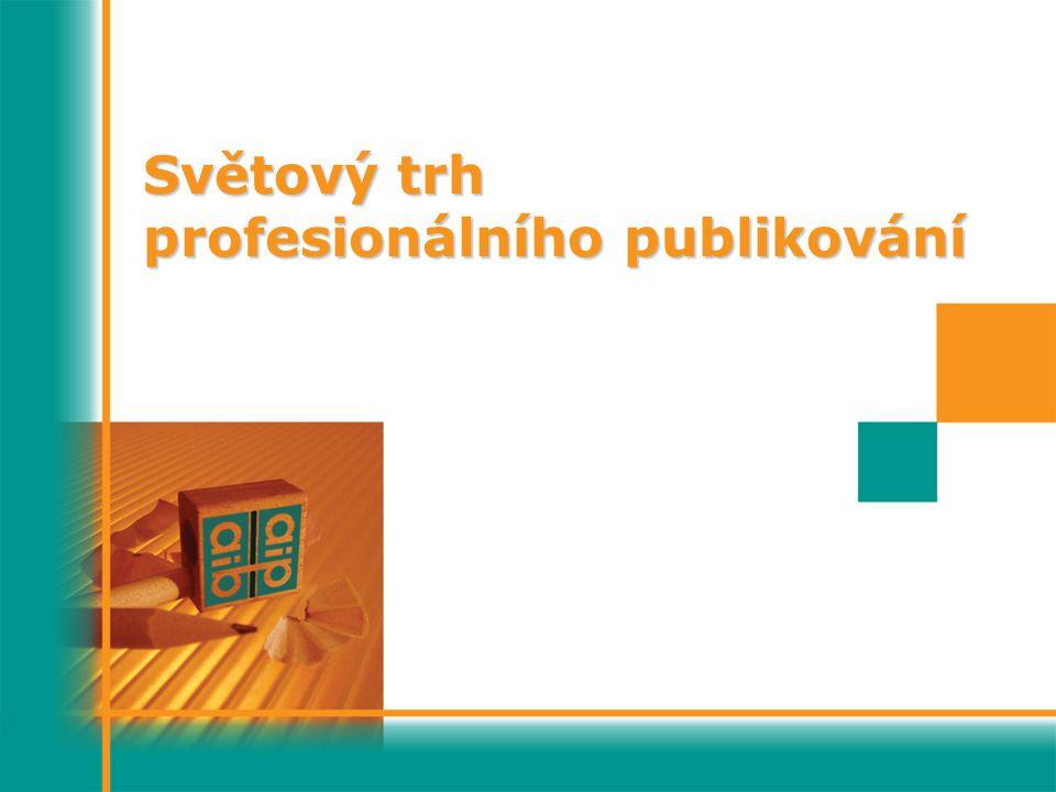 Světový trh profesionálního publikování