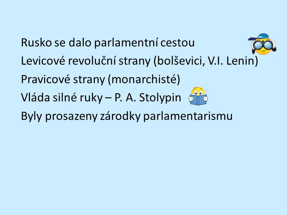 Zápis Rusko za posledních Romanovců Alexandr II.